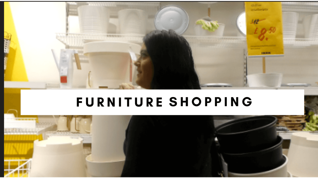 Couples Furniture Shopping
