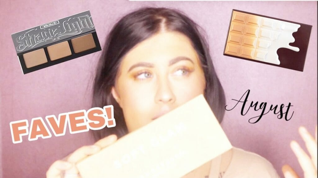 My August Favorites Beauty/Skin care Products