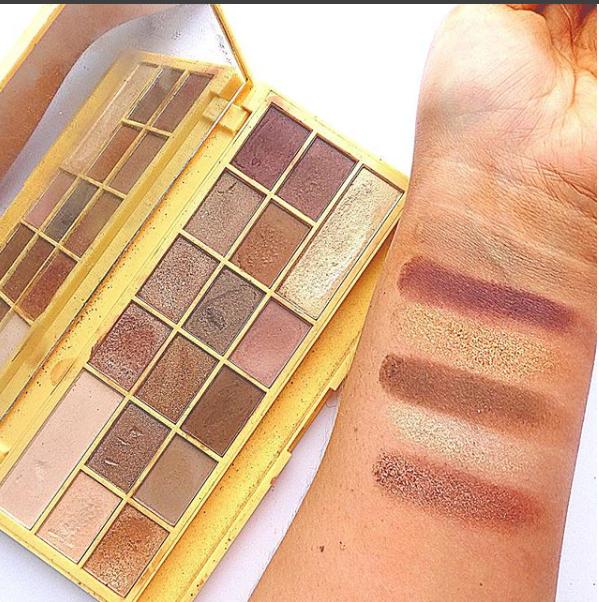 Eyeshadow Swatches Makeup Palettes/ Instagram
