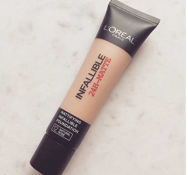 Loreal Infallible 24Hour Matte Foundation Review