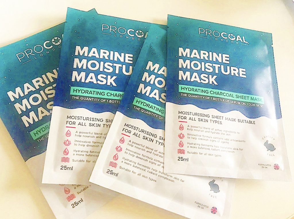 Procoal Sheet Mask Review
