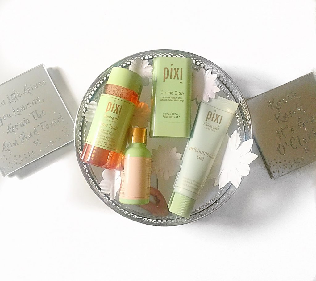 Pixi Beauty NEW Glow Skintreat Range #AD- GIFTED