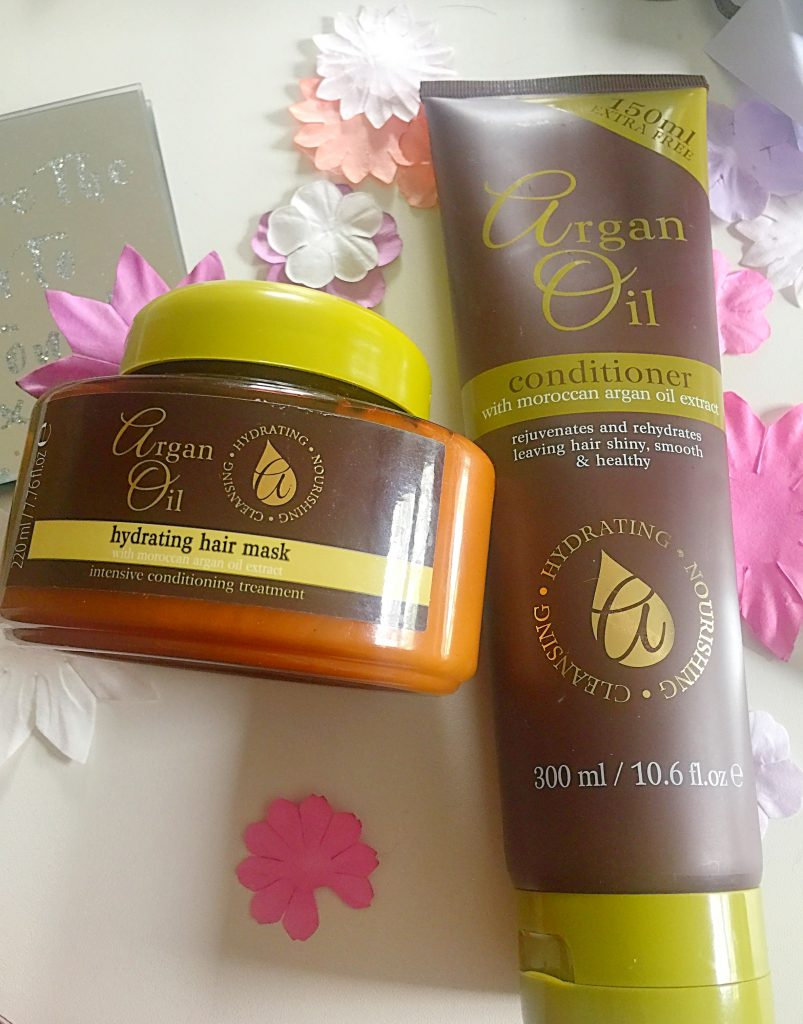 Argan Oil Hair Products from the Pound Shop