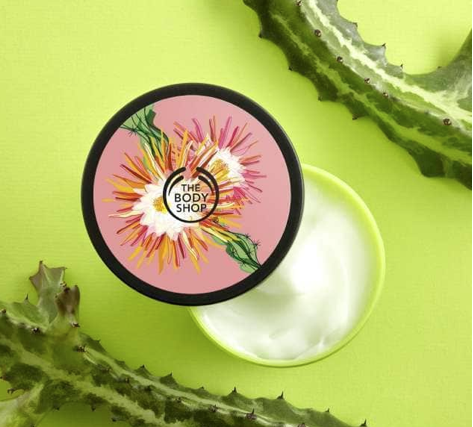 Body Shop Cactus Blossom Product Review