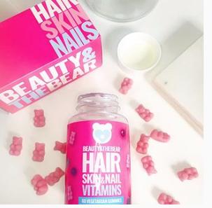 Beauty And The Bear Hair, Skin + Nails Vitamins #AD GIFTED