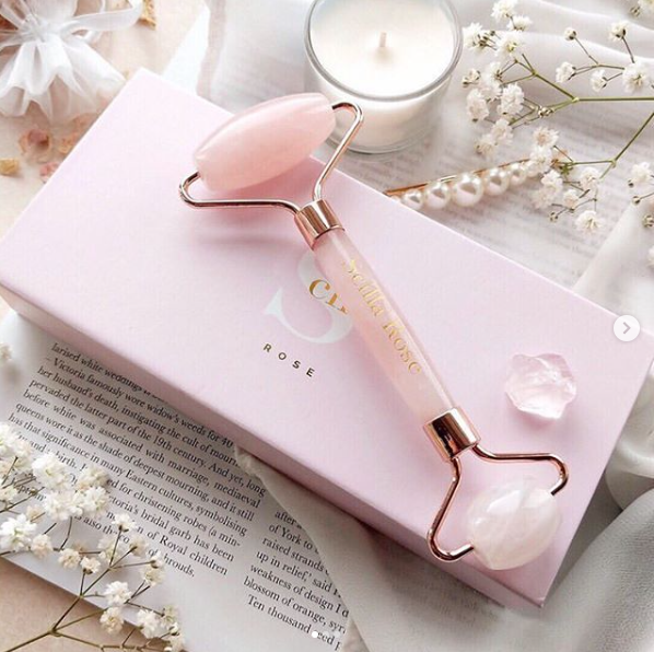 *Gifted* Scilla Rose Quartz Face Roller
