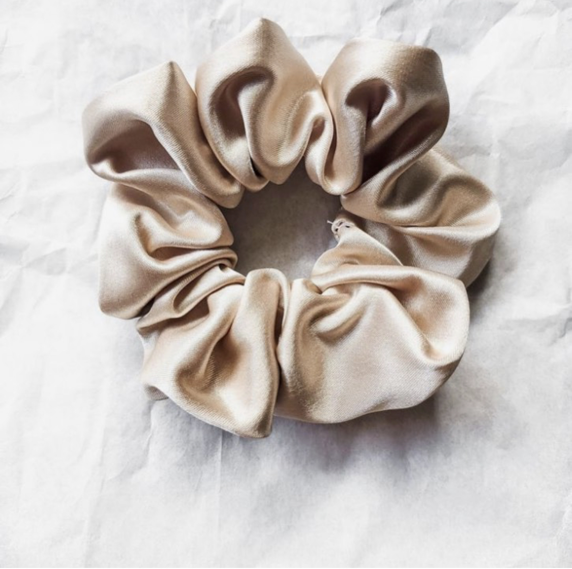 Silk Hair Scrunchie: First Impressions*gifted*