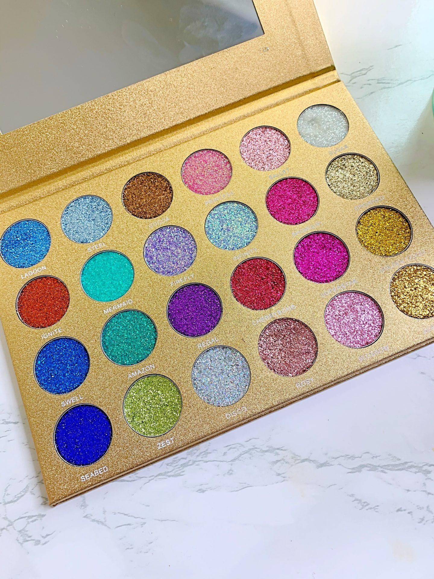 jolie beauty glitter palette