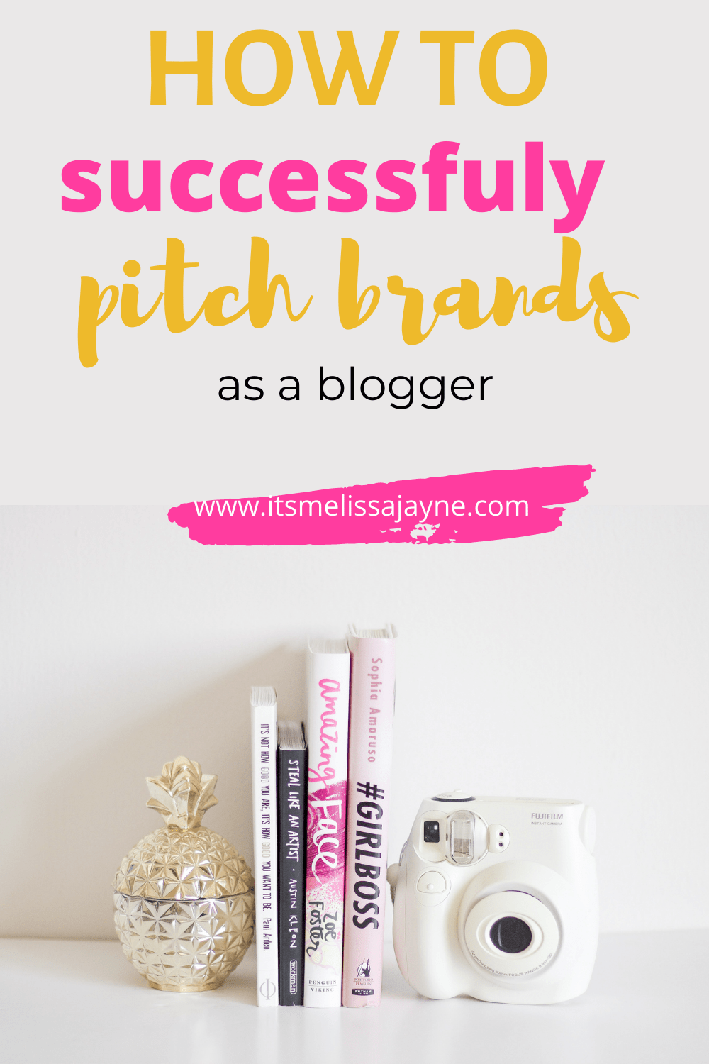 How to successfully pitch brands as a blogger