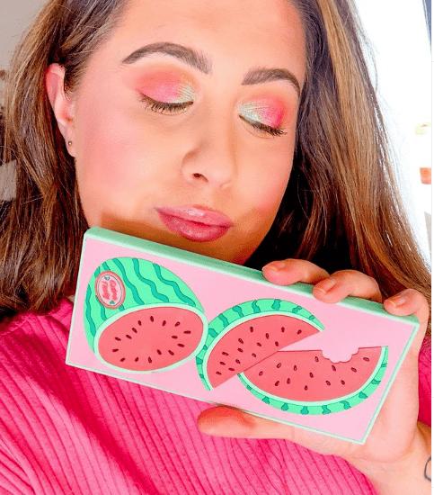 I heart revolution Tasty watermelon eyeshadow palette